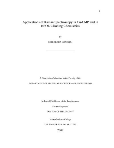 dissertation raman spektroskopie