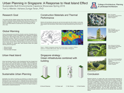 Singapore's Building Greenery: A Strategy to Respond to Urban Heat