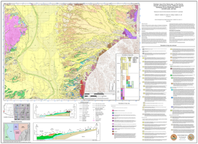Geologic Map and report of the Cibola Area, La Paz County, Arizona ...