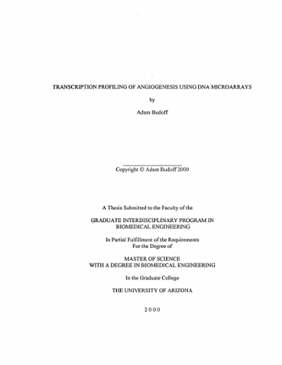 UA Theses and Dissertations